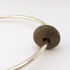 Silver Pebble Bangle (2.5mm)