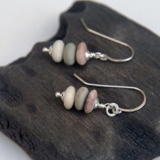 Pebble Stack Earrings 1