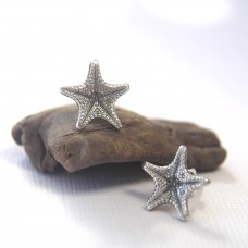 Spiny Starfish Stud Earrings - Small