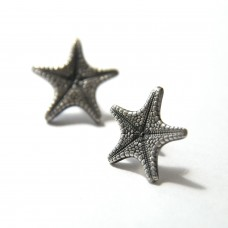 Spiny Starfish Stud Earrings - Large