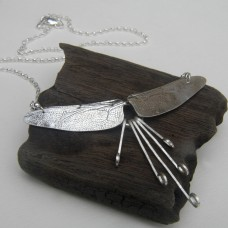 Double Winged Dragonfly Necklace