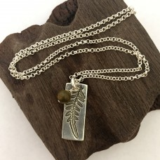 Kalgoorlie Fern Leaf Necklace